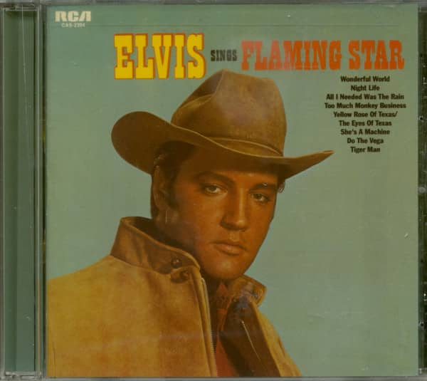 Elvis Sings Flaming Star (CD)