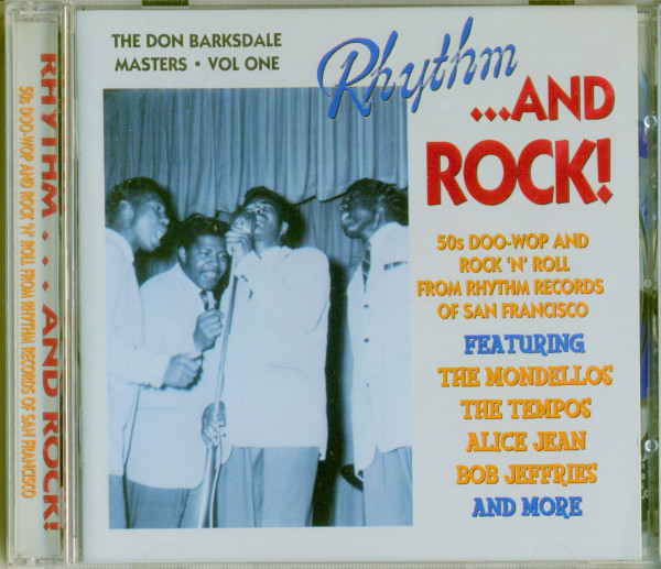 Rhythm...And Rock - Don Barksdale Masters