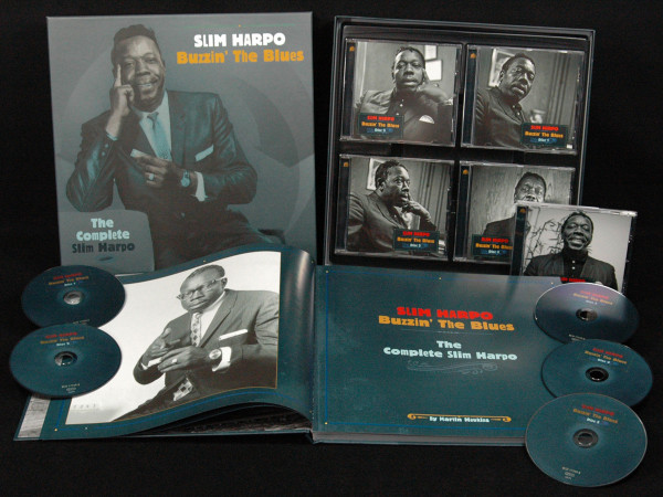 Buzzin' The Blues - The Complete Slim Harpo (5-CD Box) - Blues Music Awards 2016