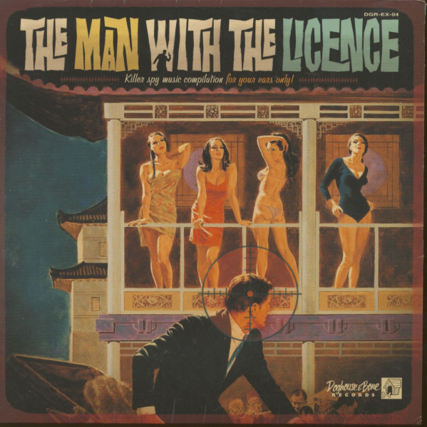 The Man With The License (LP, 10inch)