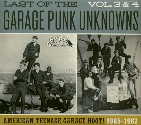 Last Of The Garage Punk Unknowns Vol.3 & 4 (CD)
