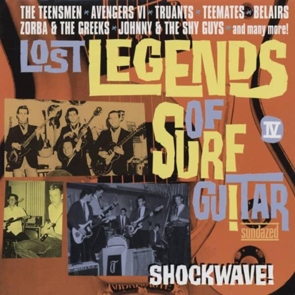 Lost Legends Of Surf Guitar Vol.4 - Shockwave! (CD)