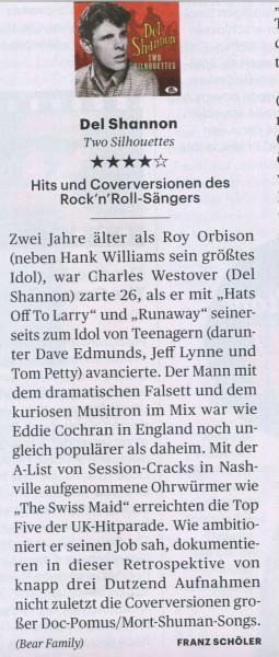 Presse-Del-Shannon-The-Drugstore-s-Rockin-Two-Silhouettes-CD-Rolling-Stone