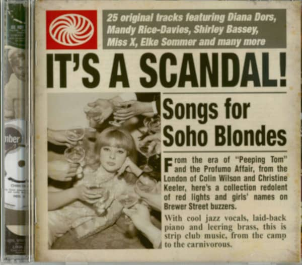 It's A Scandal - Songs For Soho Blondes (CD)