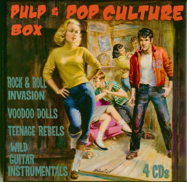 Pulp & Pop Culture Boy Vol.1 (4-CD Box)