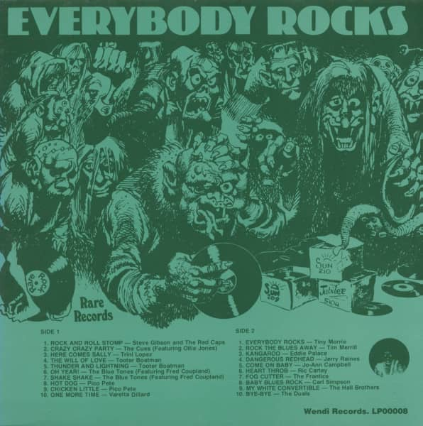 Everybody Rocks (LP)