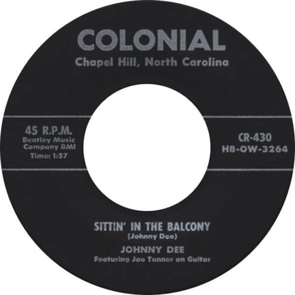 Sittin' In The Balcony - A-PLus In Love 7inch, 45rpm