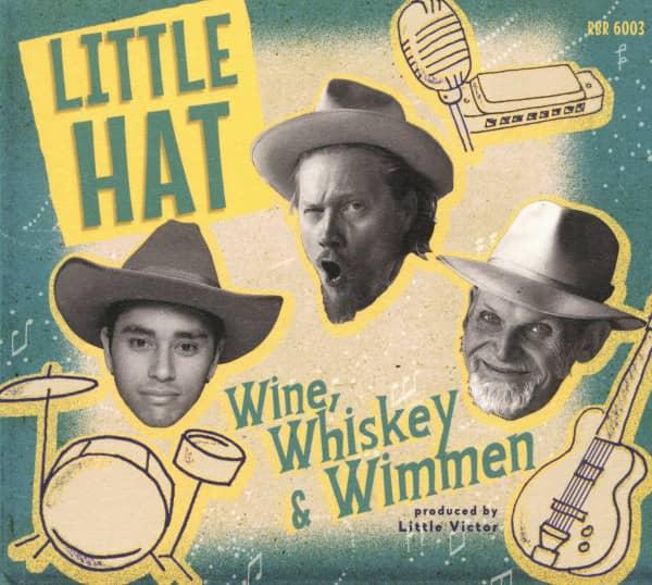 Wine, Whiskey & Wimmen (CD)
