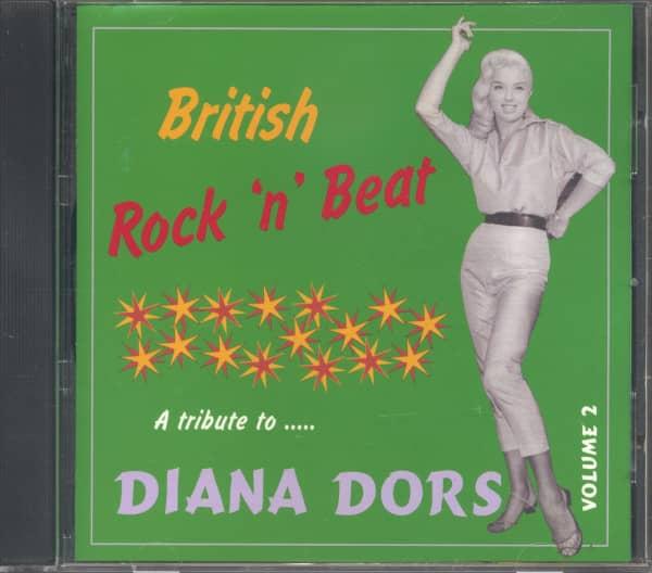 British Rock'n'Beat Vol.2 - A Tribute To Diana Dors (CD)