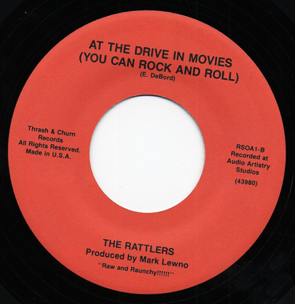 Rocking Bob - At The Drive In Movies 7inch, 45rpm