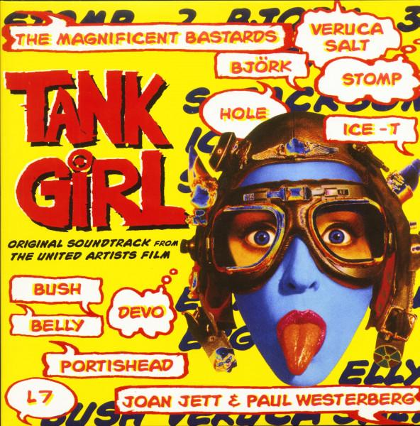 Tank Girl - Original Soundtrack (LP, Aqua Blue Vinyl, Ltd.)