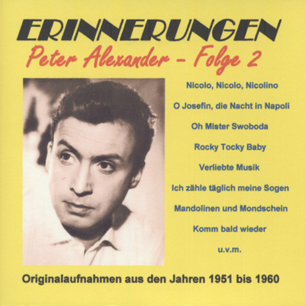 Vol.2, Erinnerungen 1951-60 (2-CD)