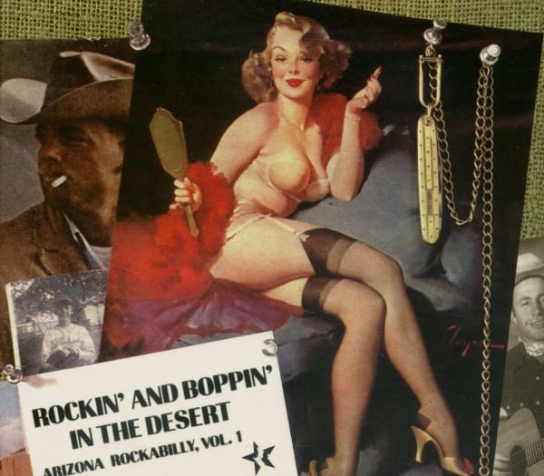 Rockin' And Boppin' In The Desert - Arizona Rockabilly - Vol.1 (CD)