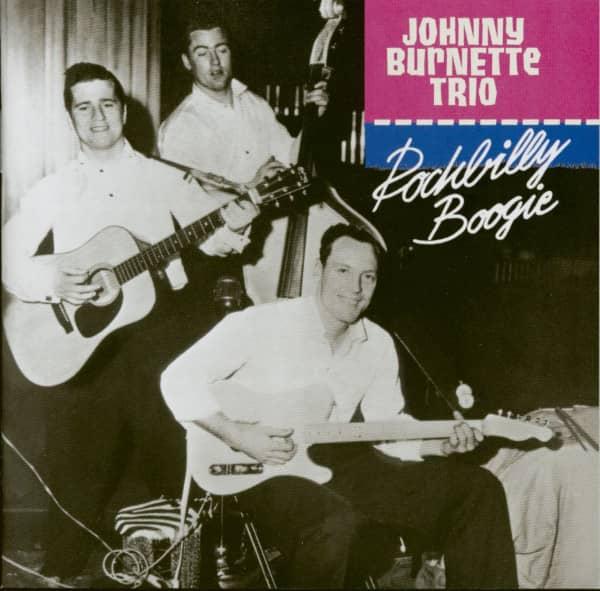 The Johnny Burnette Trio - Rockabilly Boogie (CD)