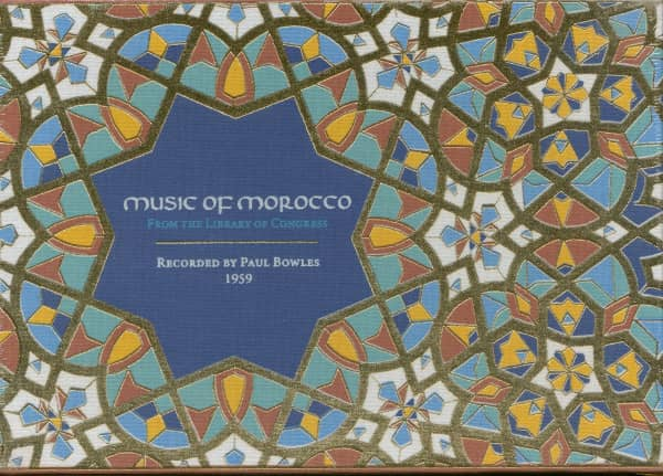 Music of Morocco: Recorded By Paul Bowles 1959 (4-CD)