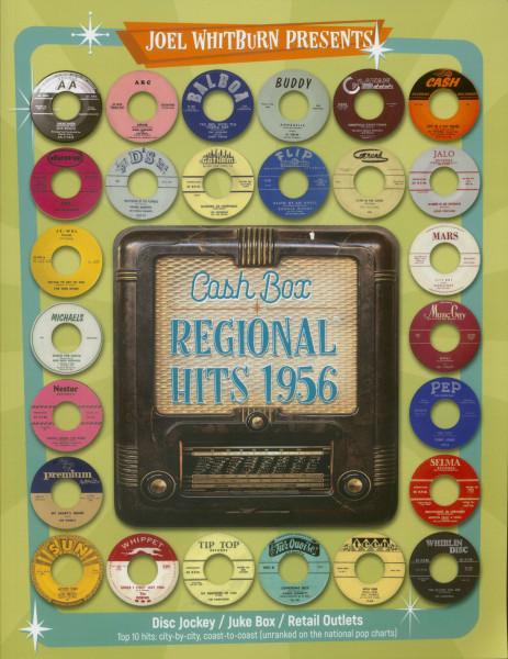 Joel Whitburn Presents - Cash Box - Regional Hits 1956