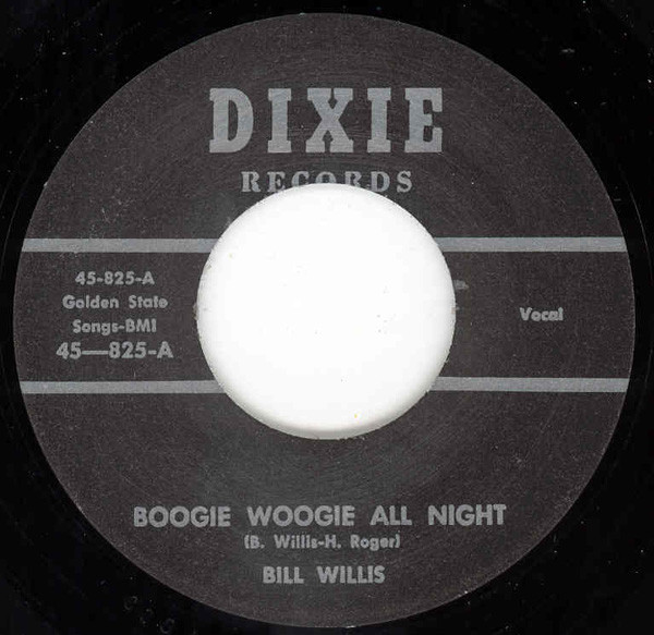 Boogie Woogie All Night - Where Is My Baby (7inch, 45rpm)