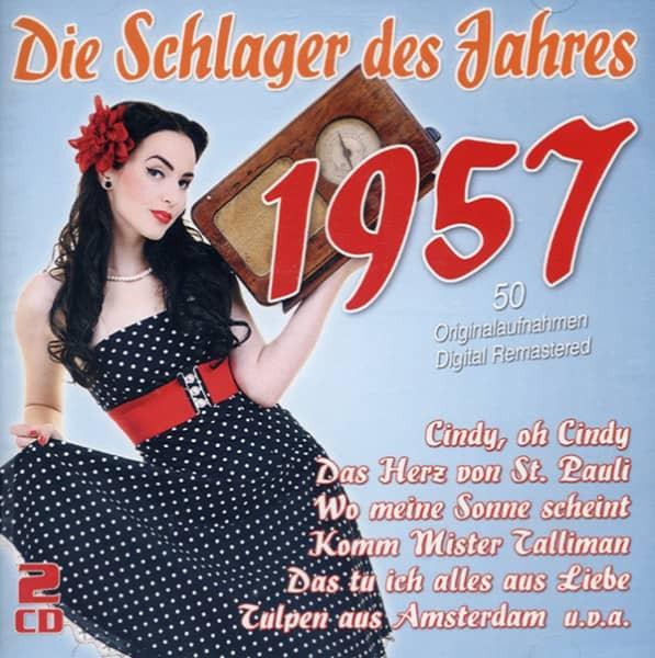 Die Schlager des Jahres 1957 (2-CD)
