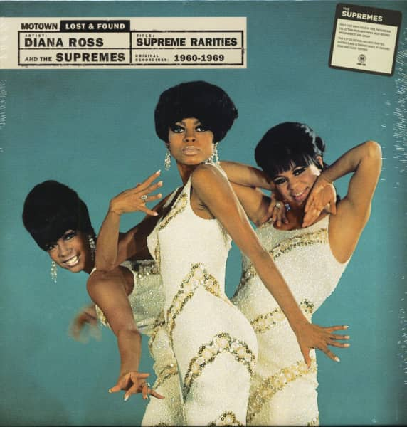Supreme Rarities - Motown Lost & Found (4-LP Box)