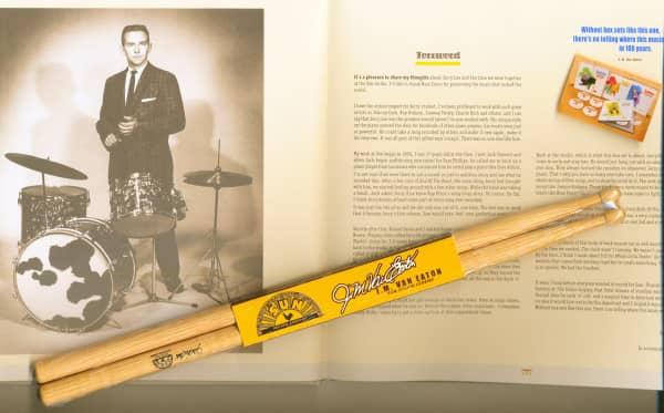 Drum Sticks (one pair of sticks) J.M. van Eaton Signature
