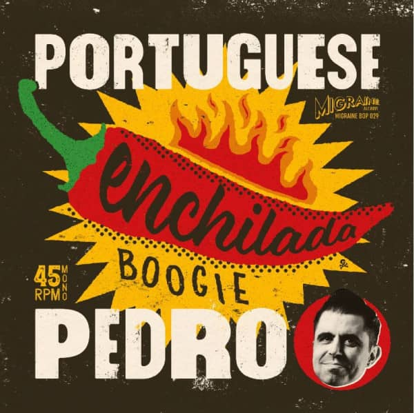 Enchilada Boogie (45rpm, 7inch, PS)