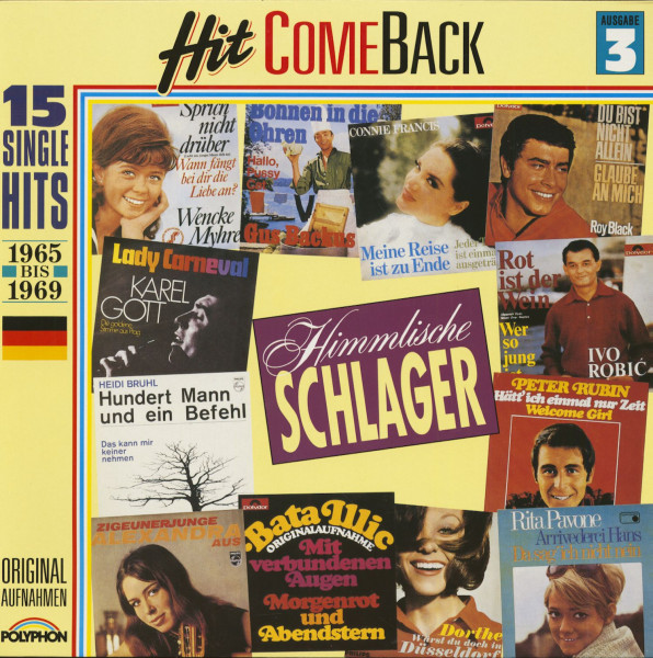 Hit Come Back - Himmlische Schlager Nr. 3 - 1965-1969 (LP)