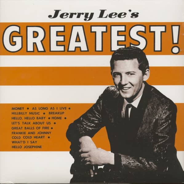 Jerry Lee's Greatest (LP)
