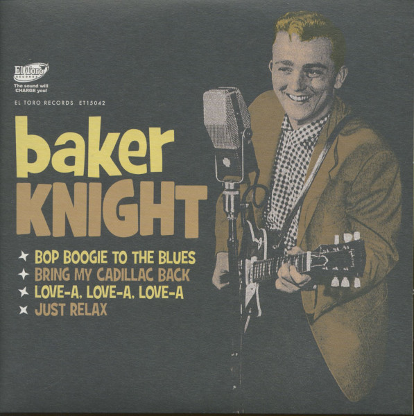 Baker Knight (EP, 7inch, 45rpm, PS)