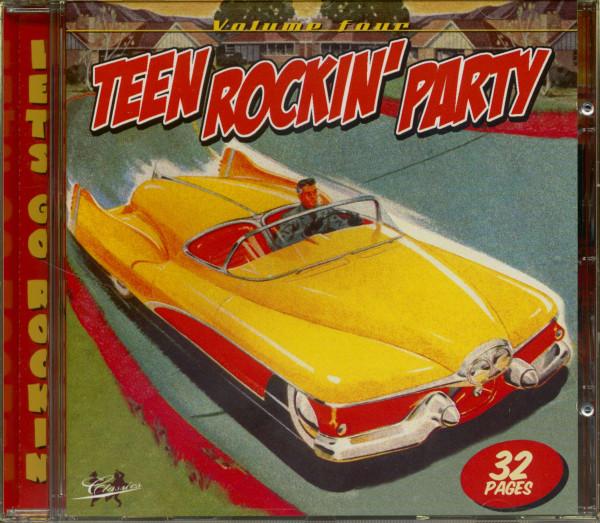 Teen Rockin' Party Vol.4 (CD)