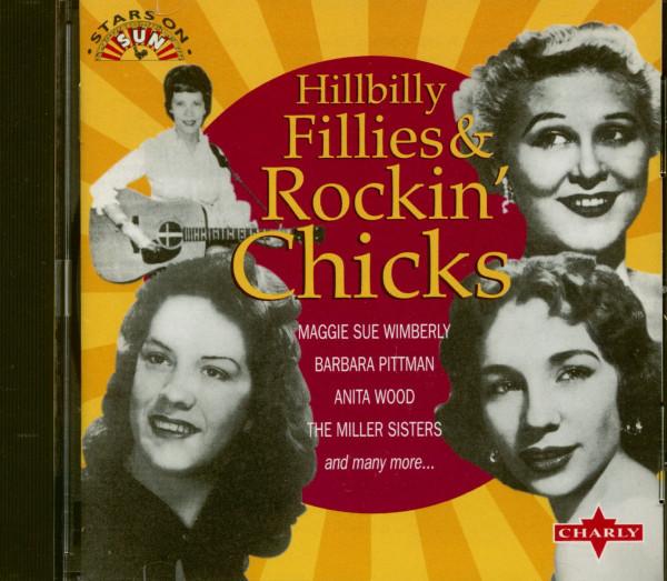 Hillbilly Fillies & Rockin' Chicks (CD)
