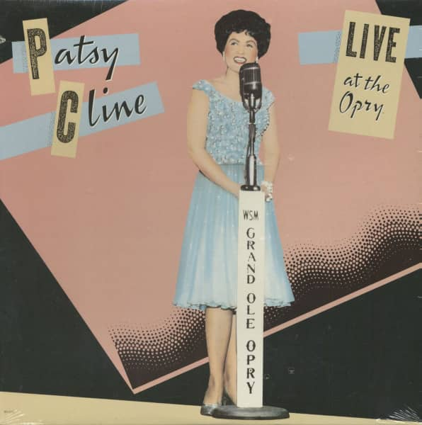 Patsy Cline - Live At The Opry (LP)