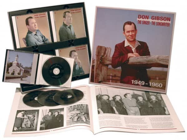 1949-1960 Singer, Songwriter (4-CD)