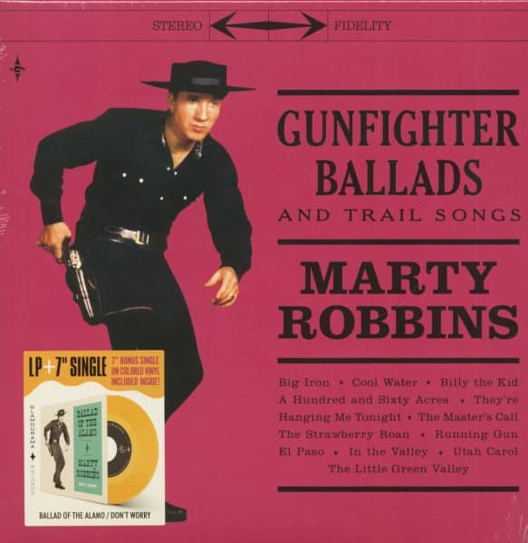 Gunfighter Ballads And Trail Songs (LP & 7inch Colored Vinyl)