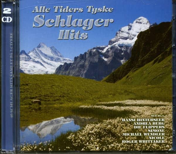 Alle Tiders Tyske Schlager Hits (2-CD)