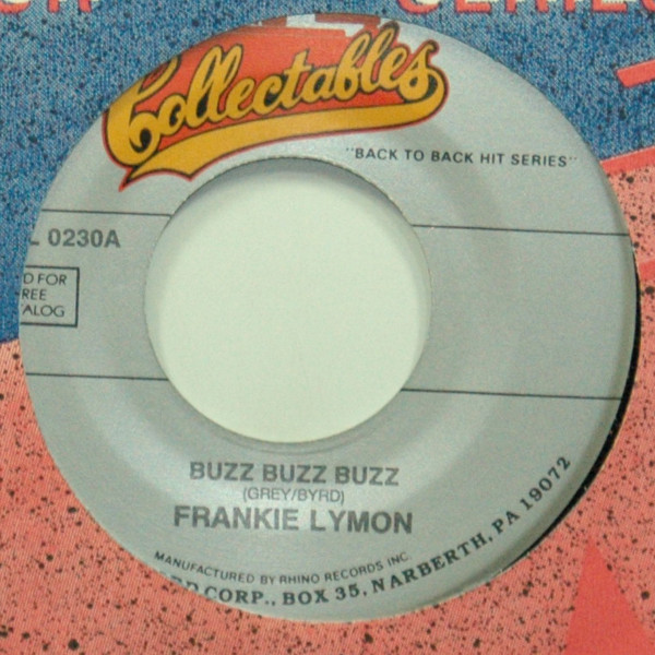 Buzz Buzz Buzz b-w I'm Not Too Young To Dream 7inch, 45rpm