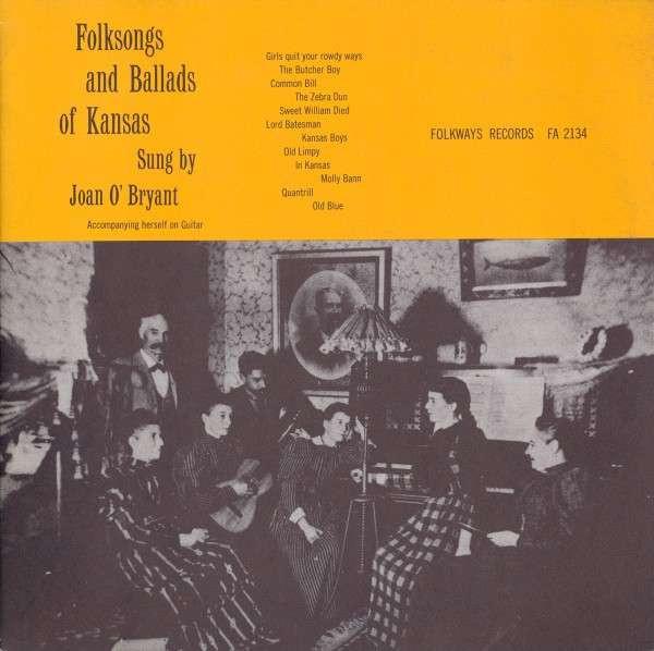Folk Songs & Ballads Of Kansas
