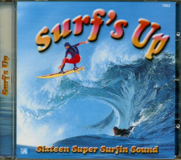 Surf's Up - Sixteen Super Surfin Sound (CD)