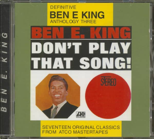 Don't Play That Song - Definitive Ben E. King Anthology, Vol. 3 (CD)