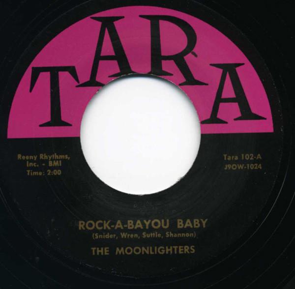 Rock-A-Bayou Baby - Broken Heart 7inch, 45rpm