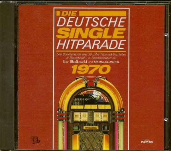 Die Deutsche Single Hitparade 1970 (CD)