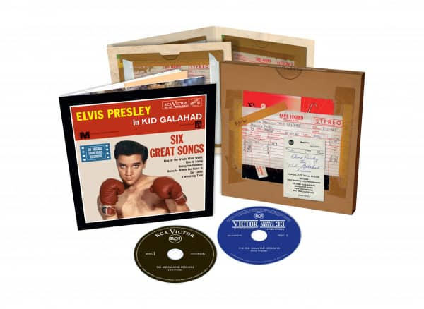The Kid Galahad Sessions (2-CD, 7inch Deluxe Edition)