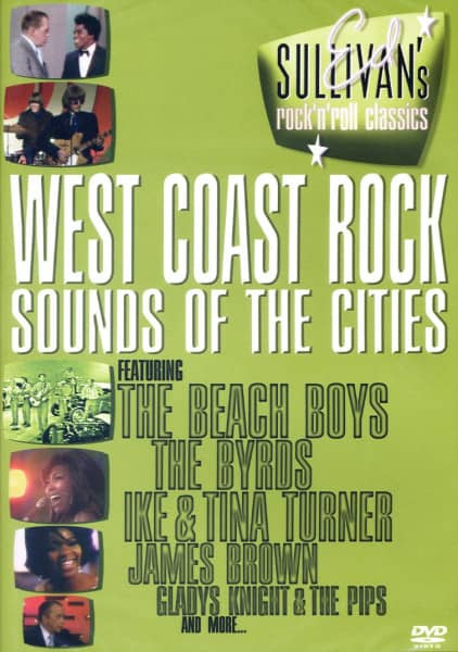 West Coast Rock - Sounds Of The Cities (DVD)