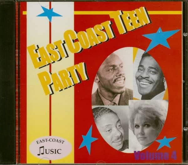 East Coast Teen Party Vol. 4 (CD)