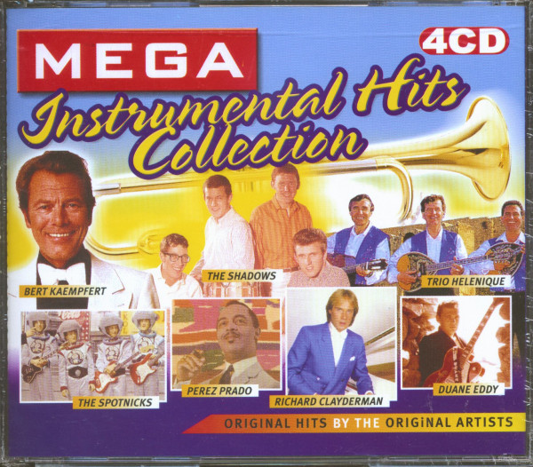 Mega Instrumental Hits Collection (4-CD)