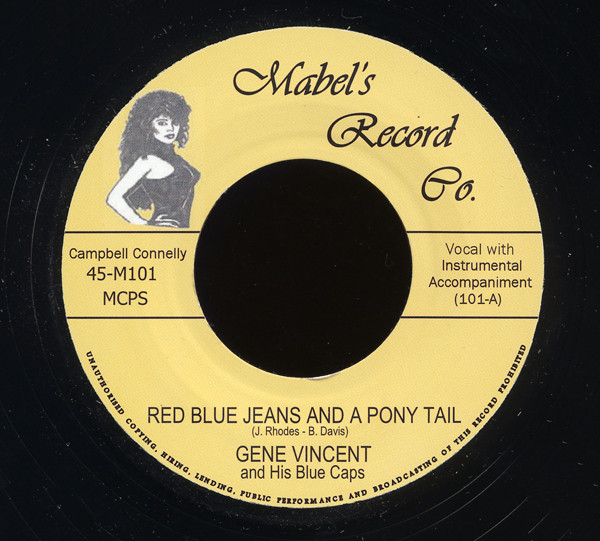 Red Blue Jeans And A Pony Tails b-w I Sure Miss You 7inch, 45rpm