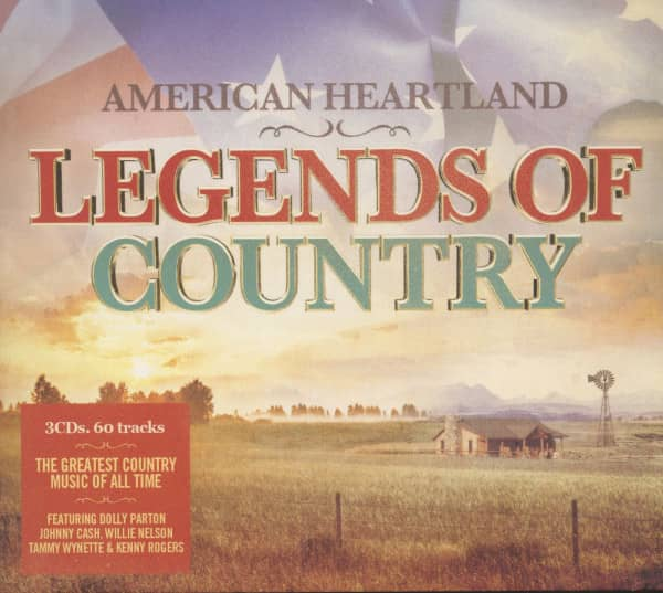 American Heartland - Legends Of Country (3-CD)