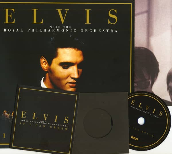 If I Can Dream - Deluxe Edition (CD, 2-LP, Poster, Book, 12x12 Format)