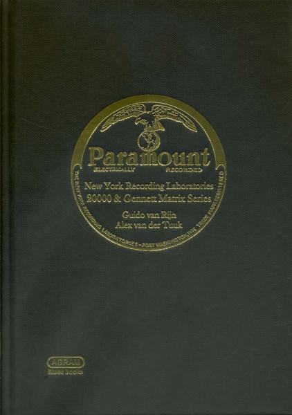 The New York Recording Laboratories Matrix Series, vol. 2: The 20000 & Gennett Matrix series (1927-1