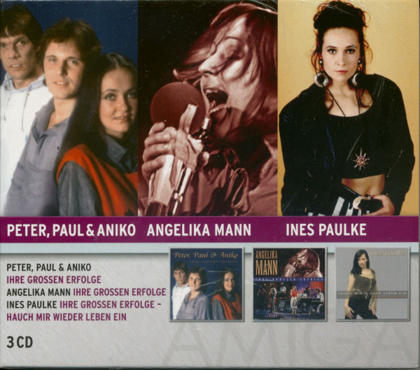Peter, Paul & Aniko - A.Mann - I.Paulke (3-CD)