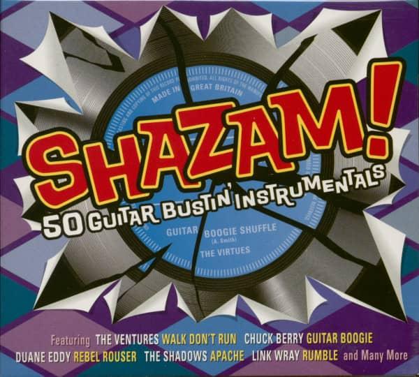 Shazam! 50 Guitar Bustin´ Instrumentals (2-CD)